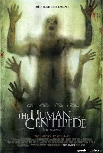 Постер Человеческая многоножка