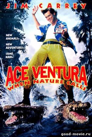 Постер Эйс Вентура 2: Когда зовет природа