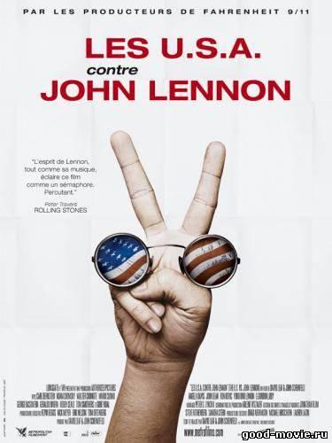 Постер США против Джона Леннона