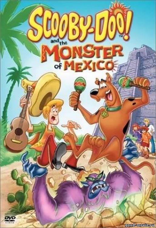 Постер Скуби-Ду и монстр из Мексики