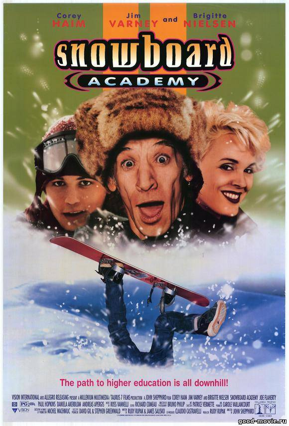 Постер Академия сноуборда