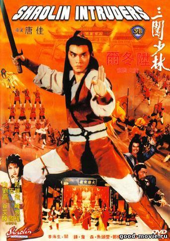 Постер Чужаки в монастыре Шаолинь