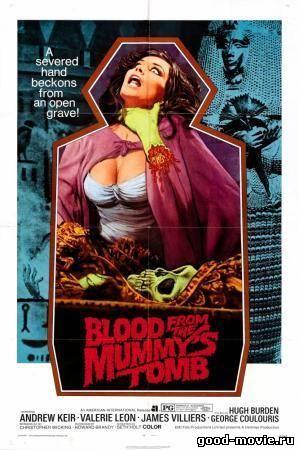 Постер Кровь из гробницы мумии (Кровь из могилы мумии)