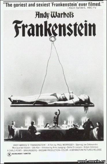 Постер Тело для Франкенштейна