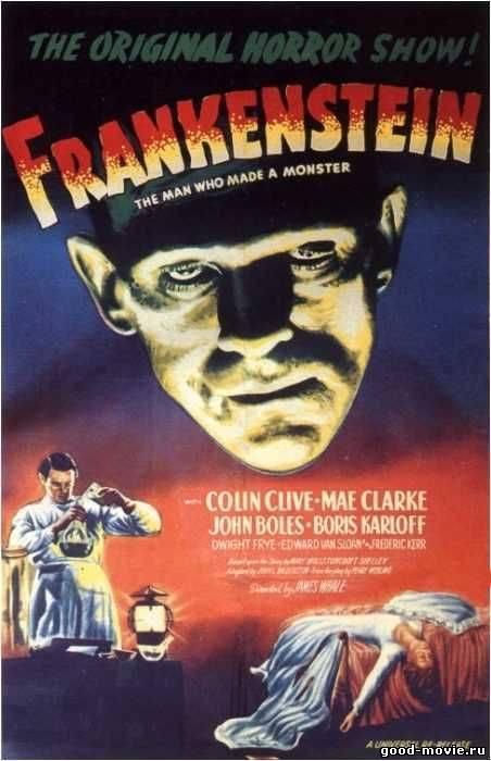 Постер Франкенштейн (ужасы, 1931)