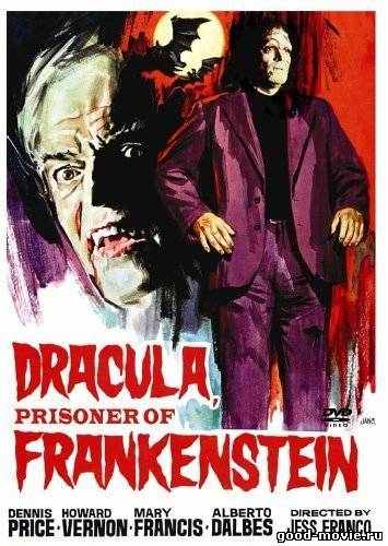 Постер Дракула против Франкенштейна (1972)