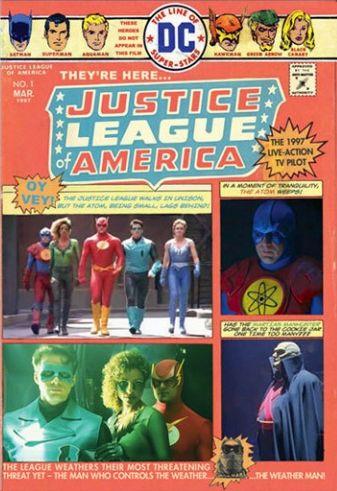 Постер Лига справедливости Америки