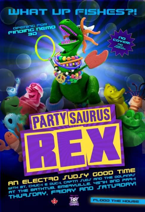 Постер Веселозавр Рекс