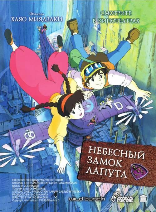 Постер Небесный замок Лапута